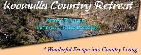 Koomulla Country Retreat - tourismnoosa.com