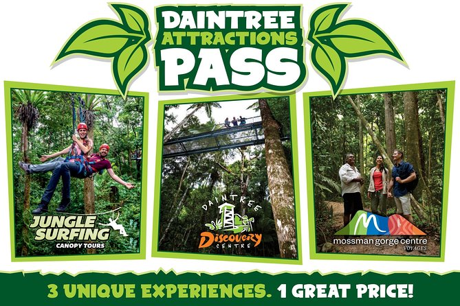 Daintree Atttractions Pass The Best of the Daintree in a Day - tourismnoosa.com
