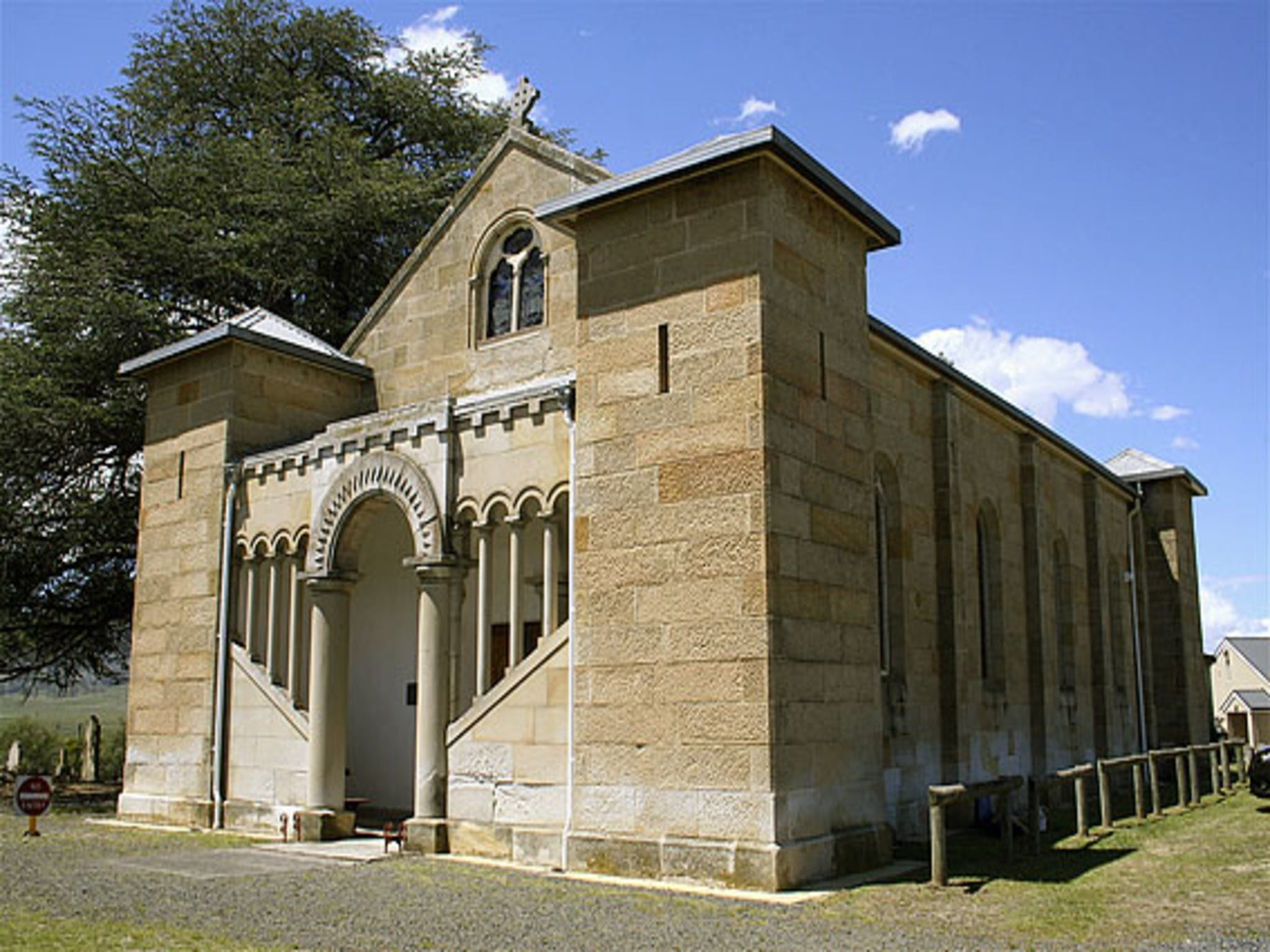 St Mark's Church Pontville - tourismnoosa.com