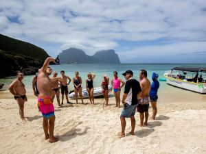 Ocean Swim Week with Trevor Hendy Pinetrees Lord Howe Island - tourismnoosa.com